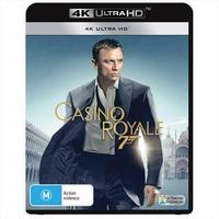Casino Royale (4K Ultra HD Blu-ray) on UHD Blu-ray image