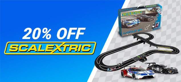 20% off Scalextric!