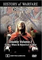 History Of Warfare - Double Vol. 1: Gallic Wars and Hannibal at War on DVD