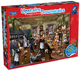 Holdson: 1000pce Puzzle - Upstairs Downstairs Christmas in the Kitchen