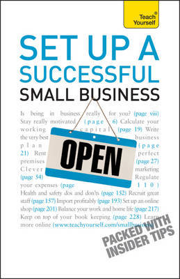 Set Up A Successful Small Business: Teach Yourself by Vera Hughes image