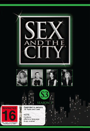 Sex And The City - Season 3 (3 Disc Set) on DVD image