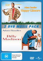 Happy Gilmore / Billy Madison - 2 DVD Movie Pack (2 Disc Set) on DVD