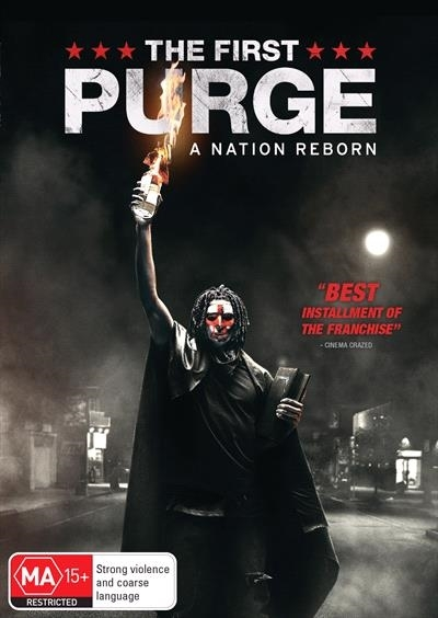 The First Purge on DVD