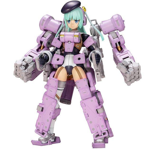 Frame Arms Girl: Greifen Ultramarine (Violet Ver.) - Model Kit
