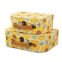 Sass & Belle: Sunflower Suitcases