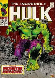 Retro The Incredible Hulk 'The Monster Unleashed' Poster (77)