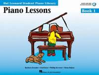Piano Lessons Book 1 - Book/CD Pack: Hal Leonard Student Piano Library by Snyder Audrey
