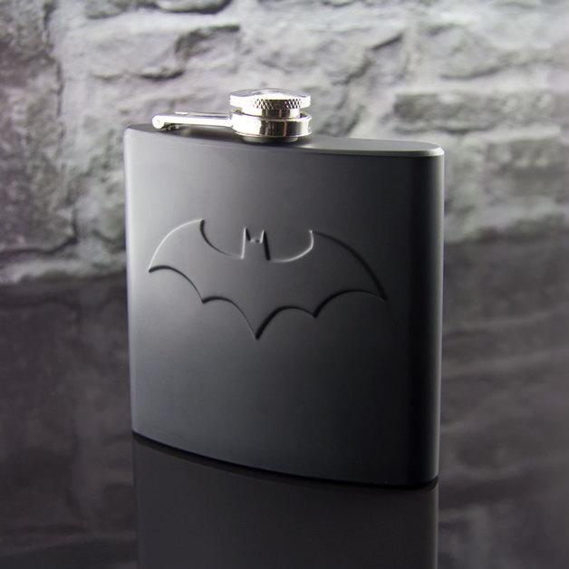 Batman Hip Flask