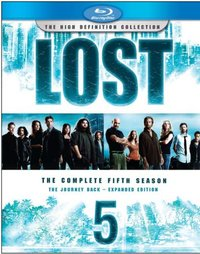Lost - The Complete 5th Season: The Journey Back - Expanded Edition (The High Definition Collection) (5 Disc Set) on Blu-ray