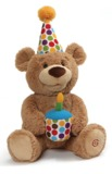 Gund: Happy Birthday! - Animated Bear Plush