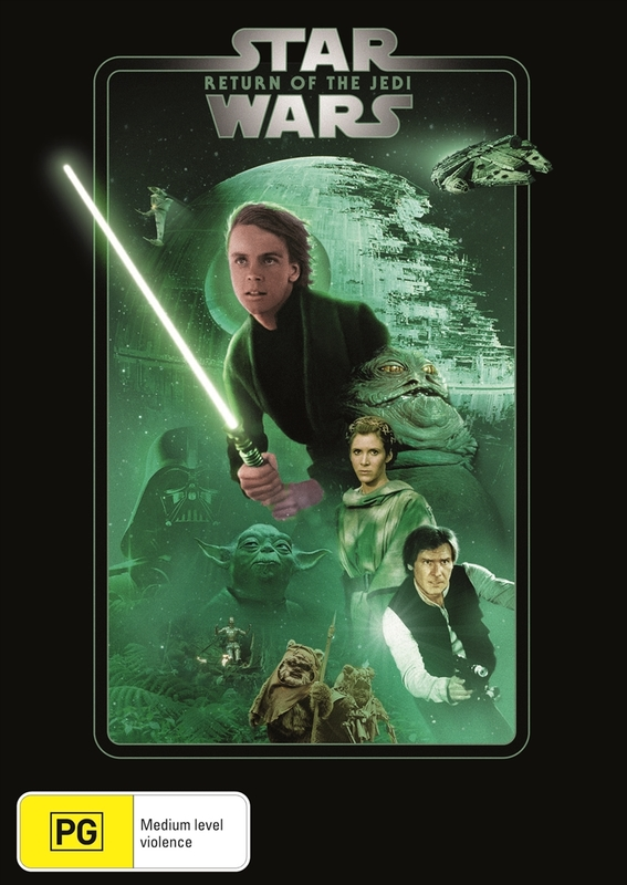 Star Wars: Episode VI - Return of the Jedi on DVD