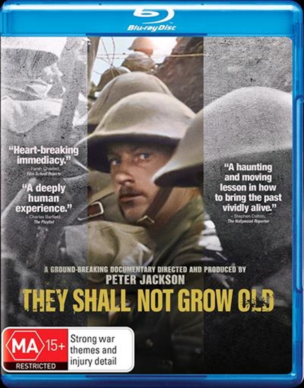 They Shall Not Grow Old on Blu-ray