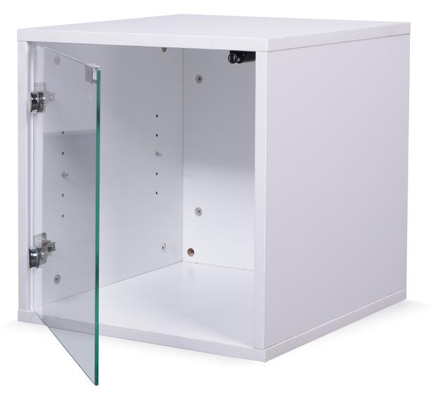 Ape Style: Modular Display Cube - White