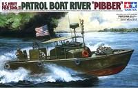 "Tamiya U.S. Navy PBR31 MkII ""Pibber"" River Patrol Boat 1/35 Model Kit"