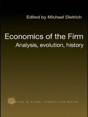 Economics of the Firm by Michael Dietrich image