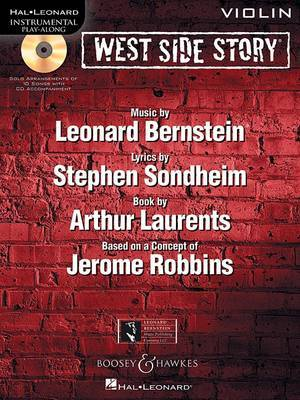 West Side Story for Violin: Instrumental Play-Along Book/CD Pack image