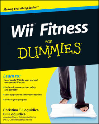 Wii Fitness for Dummies by Bill Loguidice image