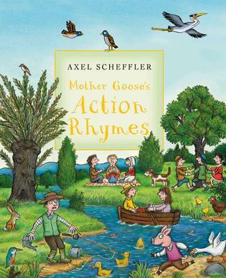 Mother Goose's Action Rhymes image