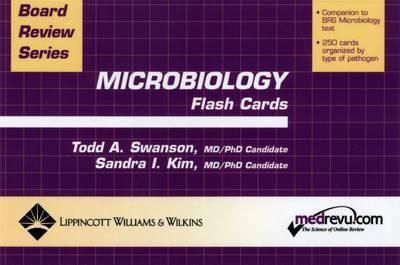 Microbiology Flash Cards by Sandra I. Kim