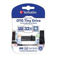 Verbatim Store'n'Go OTG Tiny USB 3.0 Drive - 32GB image