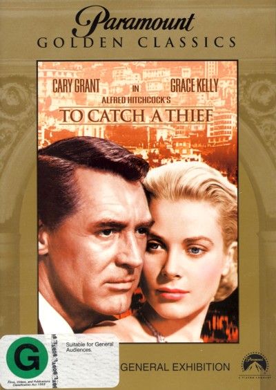 To Catch A Thief (Golden Classics) on DVD image
