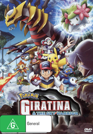 Pokemon - Movie 11: Giratina & The Sky Warrior on DVD