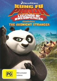 Kung Fu Panda - Legends of Awesomeness: The Midnight Stranger on DVD