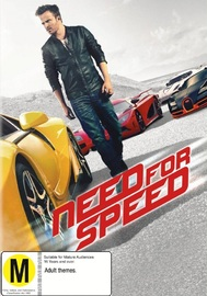 Need for Speed on DVD