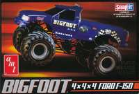 AMT Big Foot Monster Truck 1/32 Snap Model Kit