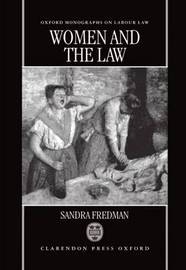 Women and the Law by Sandra Fredman