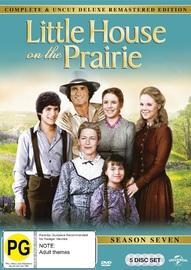 Little House On The Prairie - Season Seven Digitally Remastered Edition (5 Disc Set) on DVD
