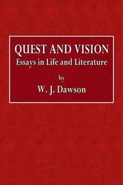 vision quest essay Vision quest is low vision training utilizing techniques commonly used by photographers to capture and present images (the name vision quest for this instruction is copyrighted by carrell grigsby, and will always be available for use to instruct the visually impaired free of charge.
