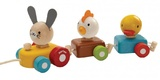 PlanToys - Animal Train Sorter