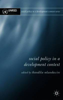 Social Policy in a Development Context image