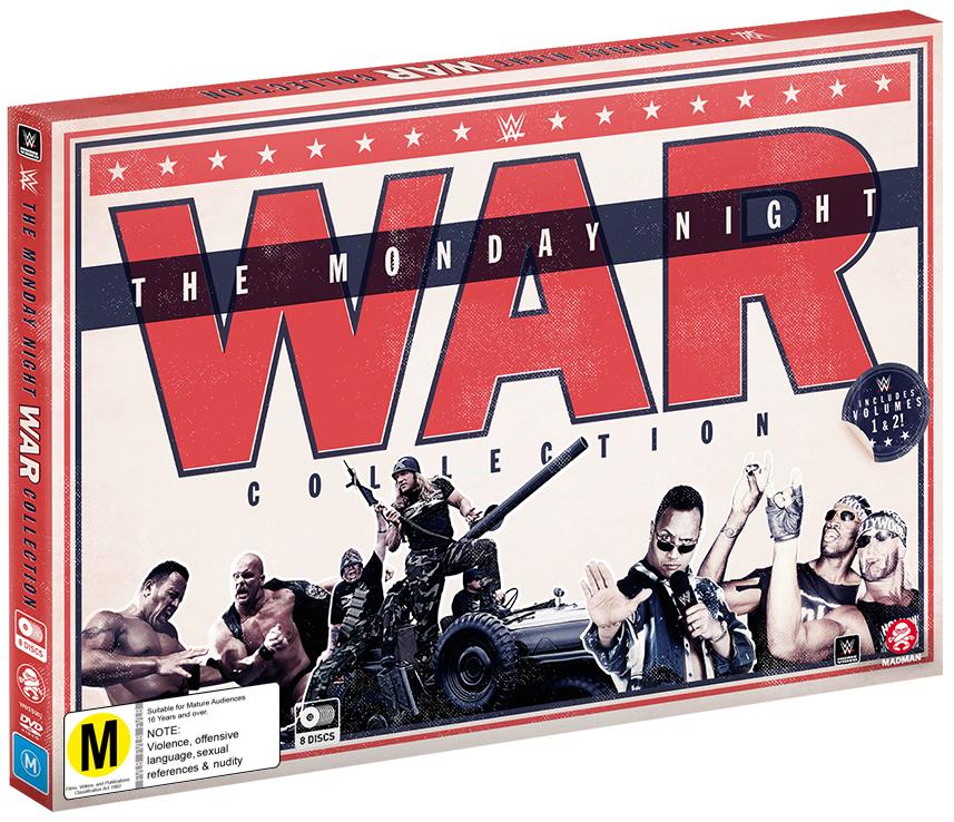 WWE: The Monday Night War Collection (Box Set) on DVD image