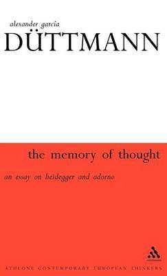 Memory of Thought by Alexander Garcia Duttmann image