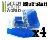 Green Stuff World - Blue Stuff Mold Bar - 4-Pack