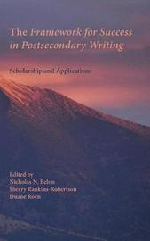 The Framework for Success in Postsecondary Writing by Duane Roen image