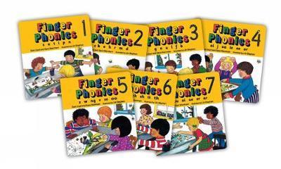 Finger Phonics: Books 1-7 by Sara Wernham