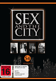 Sex And The City - Season 4 (3 Disc Set) on DVD image