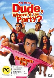 Dude Where's The Party? on DVD image