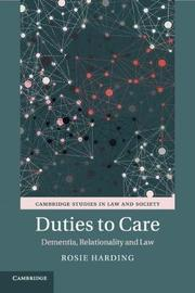 Cambridge Studies in Law and Society by Rosie Harding