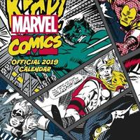 Marvel Comics Classic 2019 Square Wall Calendar