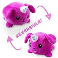 TeeTurtle: Reversible Mini Plush - Puppicorn (Purple)