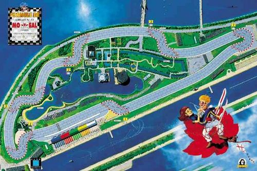 Formula De Circuits - 13, 14 - Montreal & Long Beach image