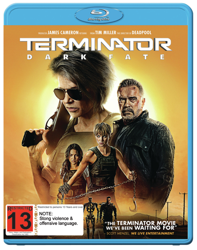 Terminator: Dark Fate on Blu-ray