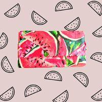 Beeswax Wraps Reusable Food Wrap - Watermelon