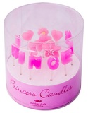 Bombay Duck Princess Letter Candles