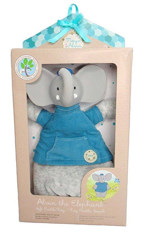 Meiya & Alvin: Alvin the Elephant - Soft Rattle